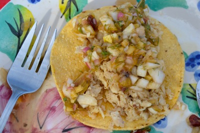 Sacramento Perch fish tacos