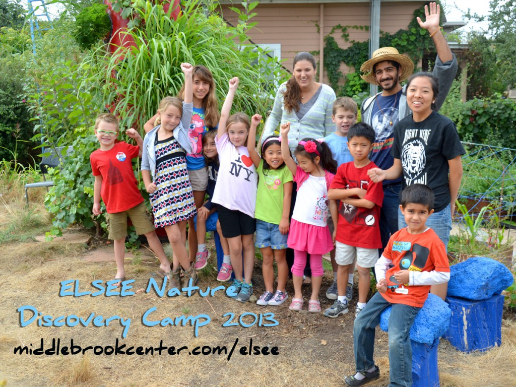 ELSEE Nature Discovery Camp- summer 2013.  Just a few of the many campers we had the pleasure of seeing this summer.