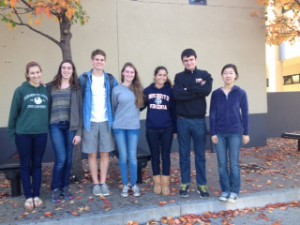 These AP students from Los Gatos High School are involved in the Beautiful Yamoransa Project.