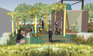 Plans for garden at Live Oak Elementary